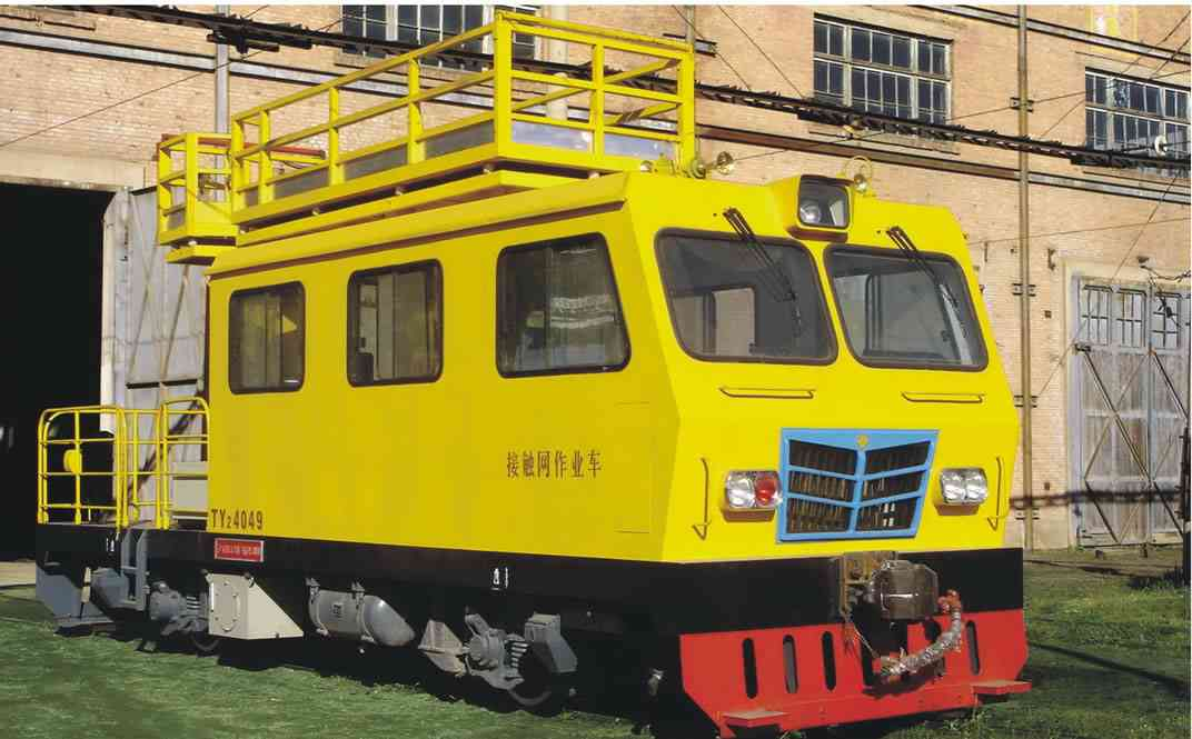 TY6 catenary work car